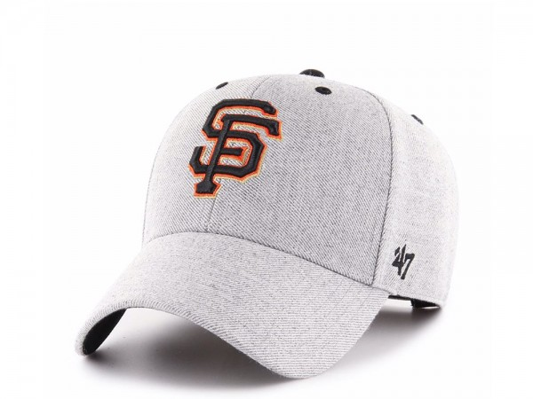 47brand San Francisco Giants Storm Cloud MVP Strapback Cap