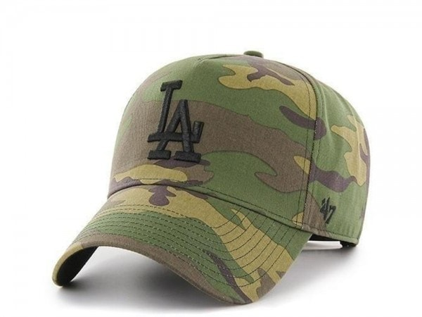 47brand Los Angeles Dodgers Camo Grove MVP Snapback Cap