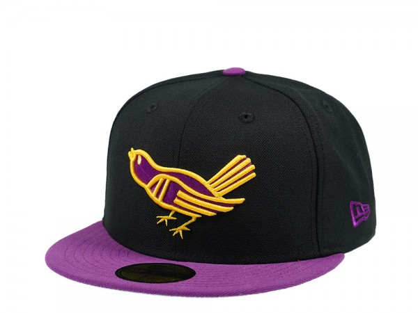 New Era Baltimore Orioles Black and Purple Edition 59Fifty Fitted Cap