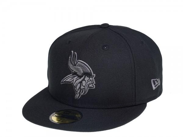 New Era Minnesota Vikings Dark Gray Edition 59Fifty Fitted Cap