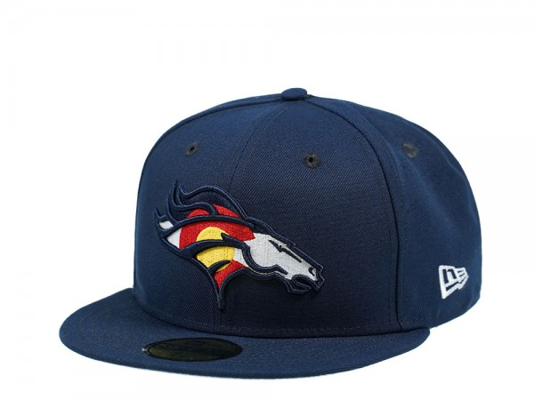 New Era Denver Broncos Colorado Edition 59Fifty Fitted Cap
