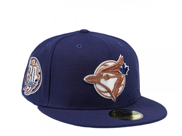 New Era Toronto Blue Jays 30th Season Copper Edition 59Fifty Fitted Cap