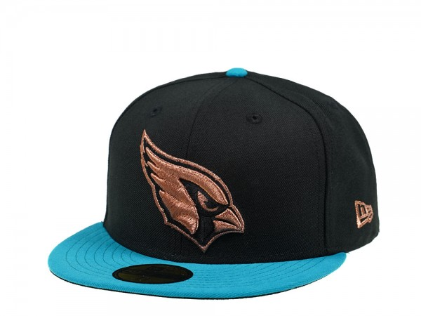 New Era Arizona Cardinals Copper Teal Edition 59Fifty Fitted Cap