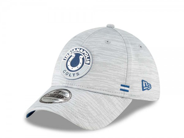 New Era Indianapolis Colts Fall Sideline 39Thirty Stretch Cap