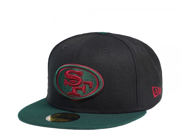 New Era San Francisco 49ers Dark Green 59Fifty Fitted Cap