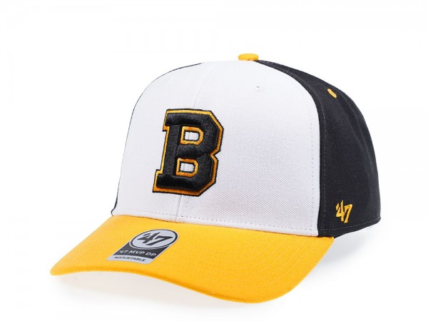 47Brand Boston Bruins Vintage MVP DP Snapback Cap
