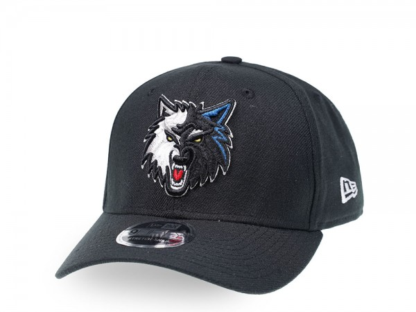 New Era Minnesota Timberwolves Alternate Logo 9Fifty Stretch Snapback Cap
