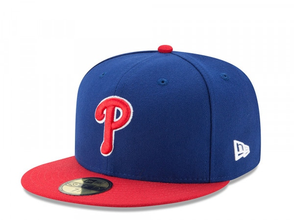 New Era Philadelphia Phillies Alternate Authentic On-Field Fitted 59Fifty Cap