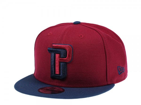 New Era Detroit Pistons Cardinal Edition 9Fifty Snapback Cap