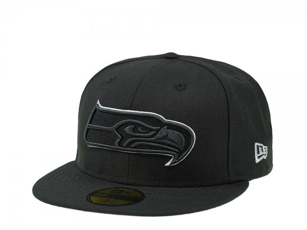 New Era Seattle Seahawks Silver Action 59Fifty Fitted Cap