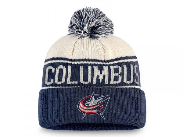 Fanatics Columbus Blue Jackets Bobble Mütze