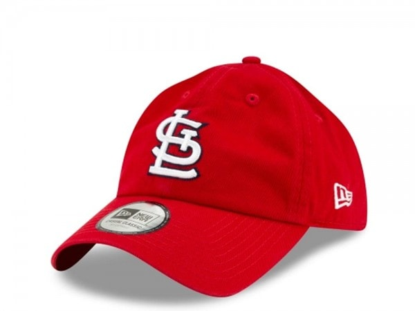 New Era St Louis Cardinals Casual Classic Strapback Cap