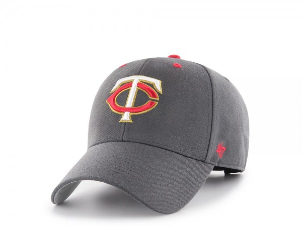 47Brand Minnesota Twins Concrete Edition MVP Snapback Cap