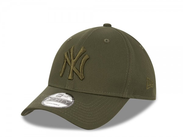 New Era New York Yankees All Olive  9Forty Adjustable Cap