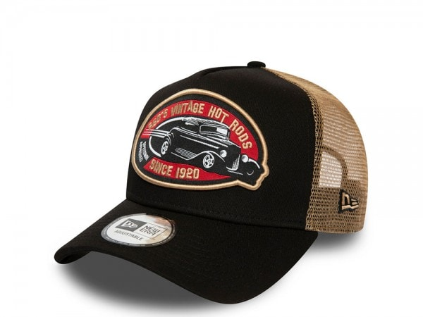 New Era Hot Rod Vintage Trucker Snapback Cap