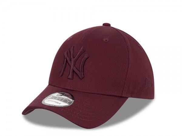 New Era New York Yankees All Maroon 9Forty Snapback Cap