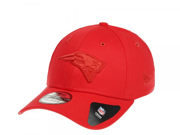 New Era New England Patriots Red on Red Stretch Fit 39Thirty-LXL