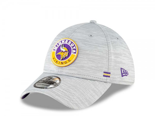 New Era Minnesota Vikings Fall Sideline 39Thirty Stretch Cap