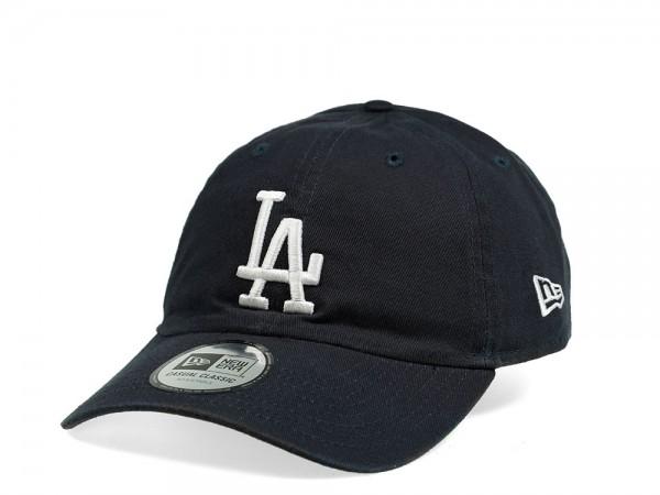 New Era Los Angeles Dodgers Casual Classic Navy Strapback Cap