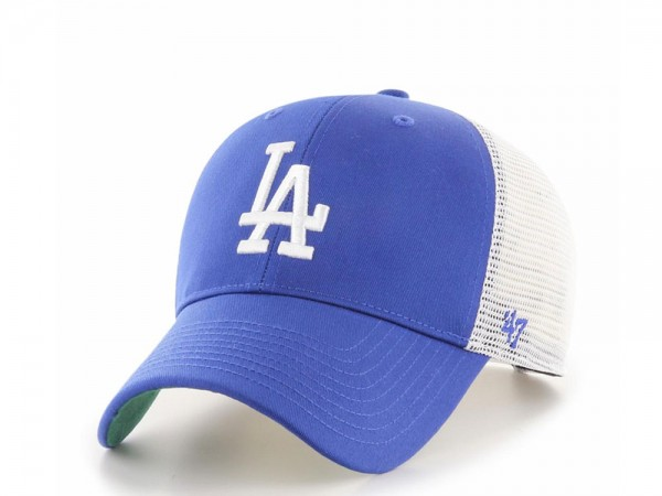 47Brand Los Angeles Dodgers MVP Blue and White Trucker Snapback Cap
