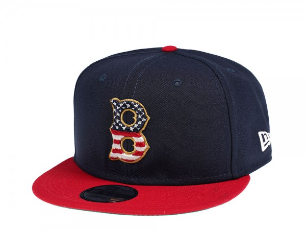 New Era Boston Red Sox 4th July Edition 9Fifty Snapback Cap