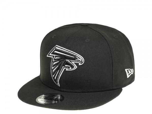 New Era Atlanta Falcons Black and White 9Fifty Snapback Cap