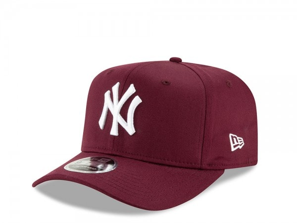 New Era New York Yankees Maroon 9Fifty Stretch Cap