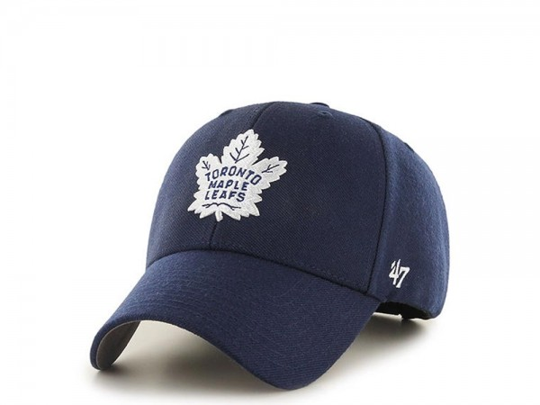 47brand Toronto Maple Leafs MVP Curved Strapback Cap