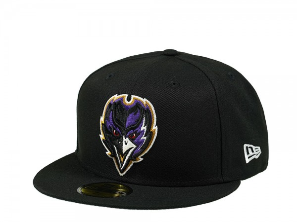 New Era Baltimore Ravens Alternate Logo 59Fifty Fitted Cap