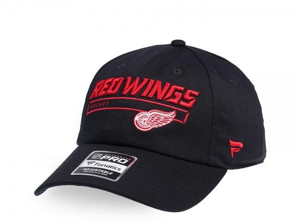 Fanatics Detroit Red Wings Authentic Pro Rinkside Adjustable Strapback Cap
