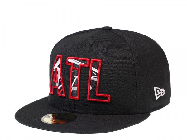 New Era Atlanta Falcons Logo in Logo Edition 59Fifty Fitted Cap