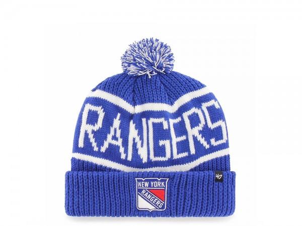 47 Brand New York Rangers Calgary Cuff Mütze