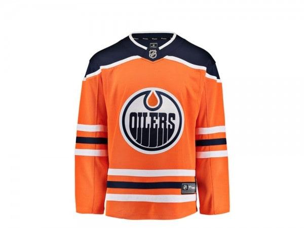 Edmonton Oilers Trikot Home - Fanatics Breakaway NHL Jersey
