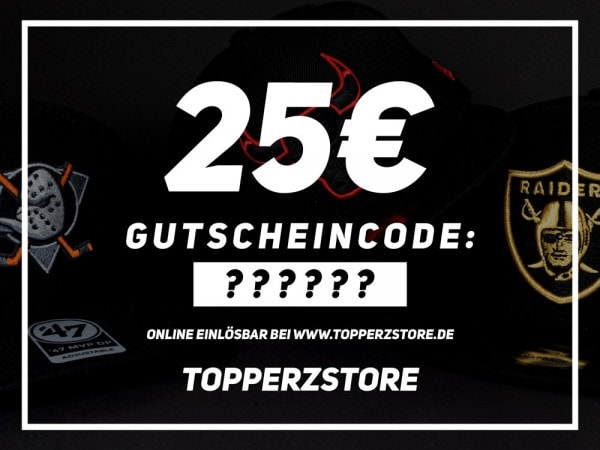 Topperz Gutschein 25 EURO