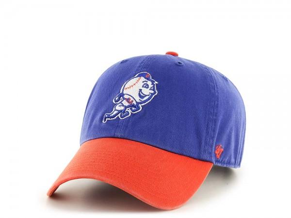 47Brand New York Mets Clean Up Mr. Met Strapback Cap