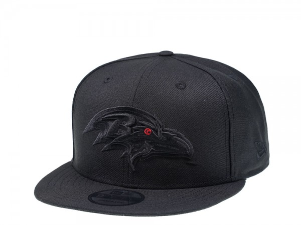New Era Baltimore Ravens All About Black Edition 9Fifty Snapback Cap