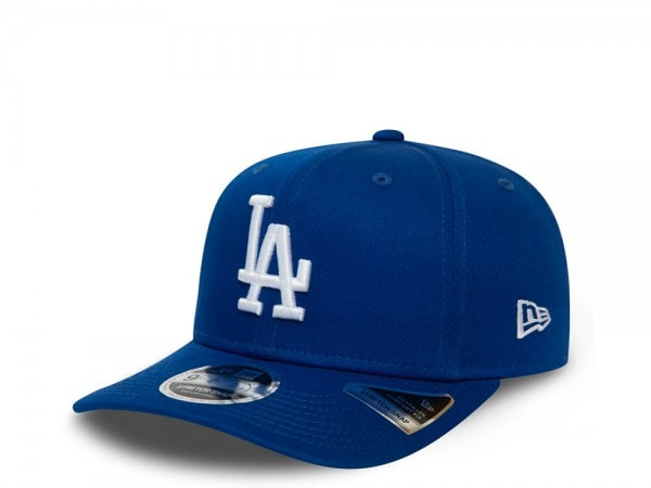 New Era Los Angeles Dodgers Blue League Essential 9Fifty Stretch Snapback Cap