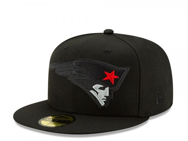 New Era New England Patriots Elements 2.0 Edition Fitted 59Fifty Cap