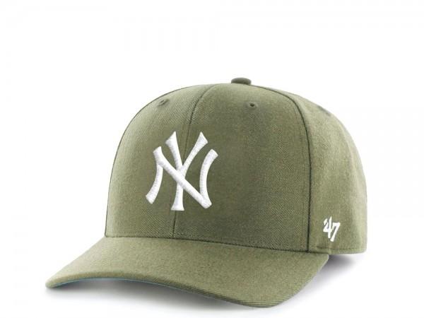 47Brand New York Yankees Cold Zone MVP DP Olive Snapback Cap