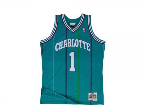Mitchell & Ness Charlotte Hornets - Muggsy Bogues 2.0 Swingman 1992-93 Jersey