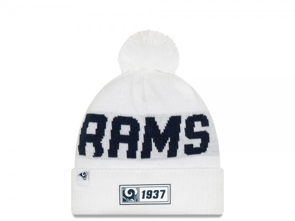 New Era Los Angeles Rams Sideline 2019 Road Reversible Color Mütze