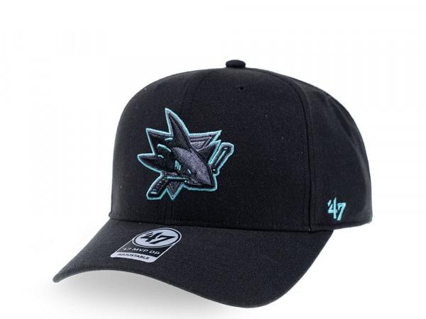 47brand San Jose Sharks Color Detail MVP DP Snapback Cap