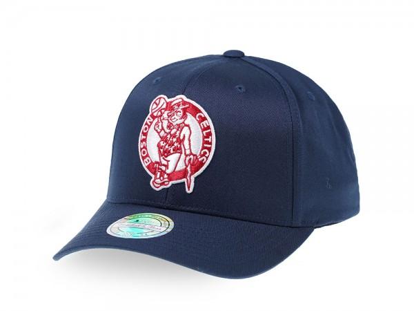 Mitchell & Ness Boston Celtics Navy Red Edition 110 Flex Snapback Cap
