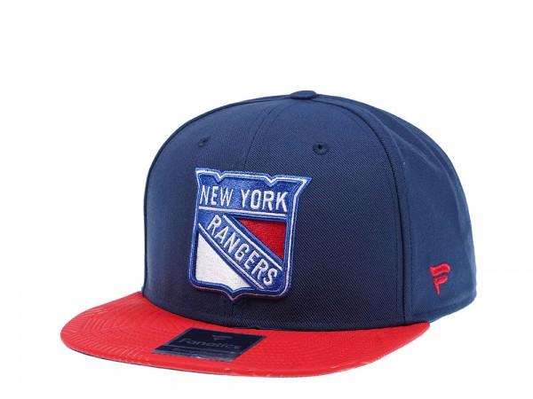 Fanatics New York Rangers Iconic Snapback Cap