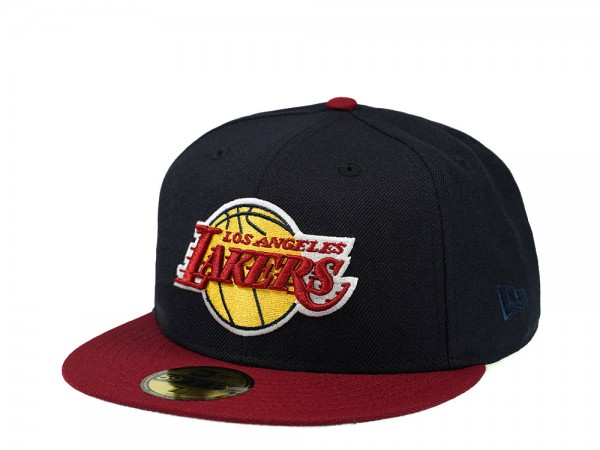 New Era Los Angeles Lakers Two Tone Prime Edition 59Fifty Fitted Cap