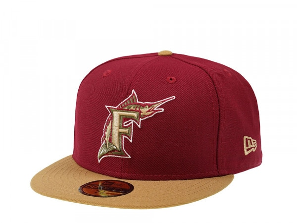 New Era Florida Marlins Two Tone 59Fifty Fitted Cap