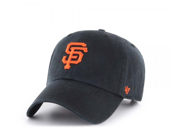 47Brand San Francisco Giants Clean Up Strapback Cap