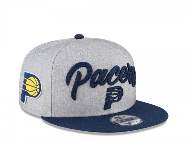 New Era Indiana Pacers NBA Draft 20 9Fifty Snapback Cap