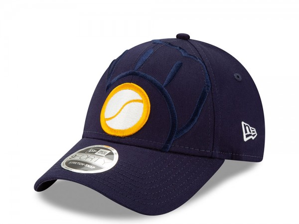New Era Milwaukee Brewers Elements Edition 9Forty Stretch Snapback Cap