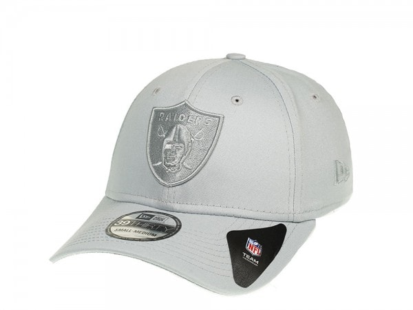 New Era Oakland Raiders Grey on Grey Stretch Fit 39Thirty-LXL